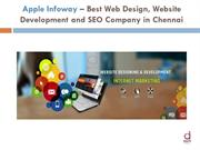 Apple Infoway – Best Web Portal Design and SEO Company in Chennai