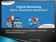 What is Social Media Optimization(SMO) Learn Online Digital Marketing