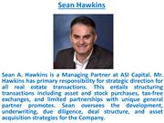 Sean Hawkins also known