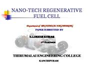 NANO-TECH REGENERATIVE FUEL CELL