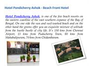 Hotel Pondicherry Ashok