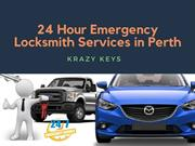 24 Hour Emergency Locksmith Services in Perth