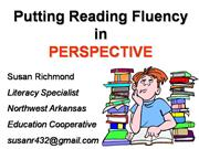 Fluency for Reading Council 10