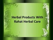 Herbal Products With Rahat Herbal Care