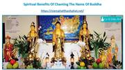 Chanting Amitābha Buddha to become a Buddha in one LifeTime