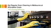 Get regular oven cleaning in Melbourne at affordable costs