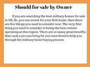 Should for sale by Owner