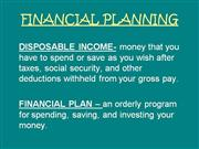 Financial Planning Notes