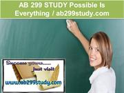 AB 299 STUDY Possible Is Everything - ab299study.com