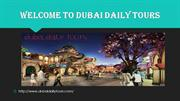 Enjoy your winter holidays in Dubai