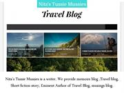 Advantages of Travel Blog Writing by Nita Tussie Mussies