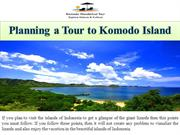 Planning a Tour to Komodo Island