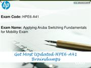 HPE6-A41 Study Material