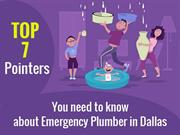 Top 7 Pointers You Need To Know About Emergency Plumber In Dallas