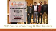NLP Coaching, Courses  and Trainer in Delhi India