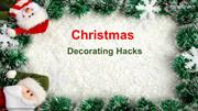 Simple and Inexpensive Way for Christmas Decor