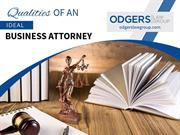 Qualities of an Ideal Business Lawyer in San Diego