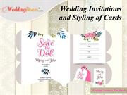 Wedding Invitations and Styling of Cards