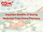 Important Benefits Of Buying Medicines From Online Pharmacy