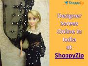 Designer Sarees for women in India at ShoppyZip