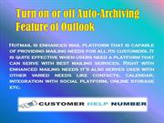 Turn on or off Auto-Archiving Feature of Outlook