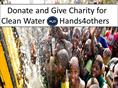 Donate and Give Charity for Clean Water