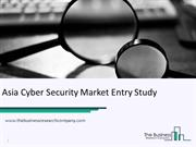 Case Study – Asia Cyber Security Market Entry Study