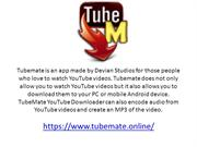 Tubemate - The Most Easy Video Downloading App