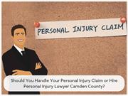 Should You Handle Your Personal Injury Claim or Hire Personal Injury