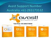 Avast Support Number Australia +61-283173532