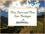 Peru Tours and Peru Tour Packages | Tailor Made Peru