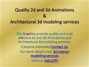 Quality 2d and 3d Animations