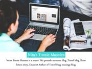 Advantages of Travel Blog - Nita Tussie Mussies