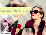 Keep your eyes healthy with Le Specs!