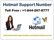 Hotmail Support +1-844-267-8777 USA