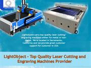 LightObject - Top Quality Laser Cutting and Engraving Machines Provide