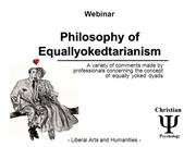 The Philosophy of the Equally Yoked - WEBINAR - Liberal Arts