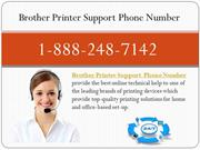 Brother Printer Support Phone Number -1-888-248-7142