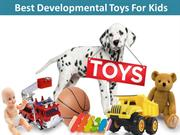 Best Developmental Toys For Kids