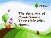 Fine Art of Conditioning Your Hair