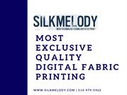 Most Exclusive Quality Digital Fabric Printing