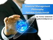 Financial Management Philosophy - Forintas Goldschmidt