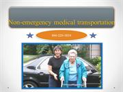 Book a Non-Emergency Medical Transportation Service - How to Do?