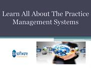 Learn All About The Practice Management Systems