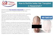 How to find the better Hair Transplant in Nawanshahr?
