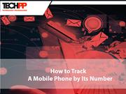 Cell Phone Number Tracking-Track it by its Number