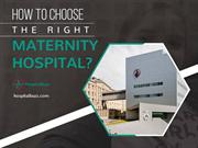 No.1 Directory for Hospitals – Choose the Right Maternity Hospital