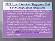 Best SEO Company in Singapore Rankings of Best SEO
