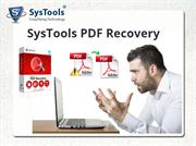 PDF Recovery Software - Repair Corrupt PDF Files