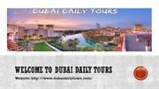 Dubai tour in best and cheapest rate